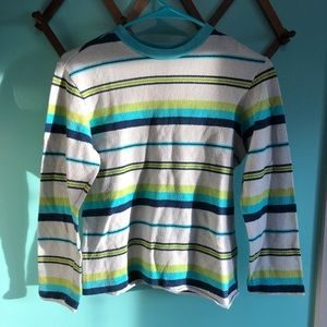 VTG 60s Striped Long Sleeve Top